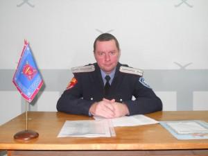 Командир казачей дружины сотник Петров Д.В.